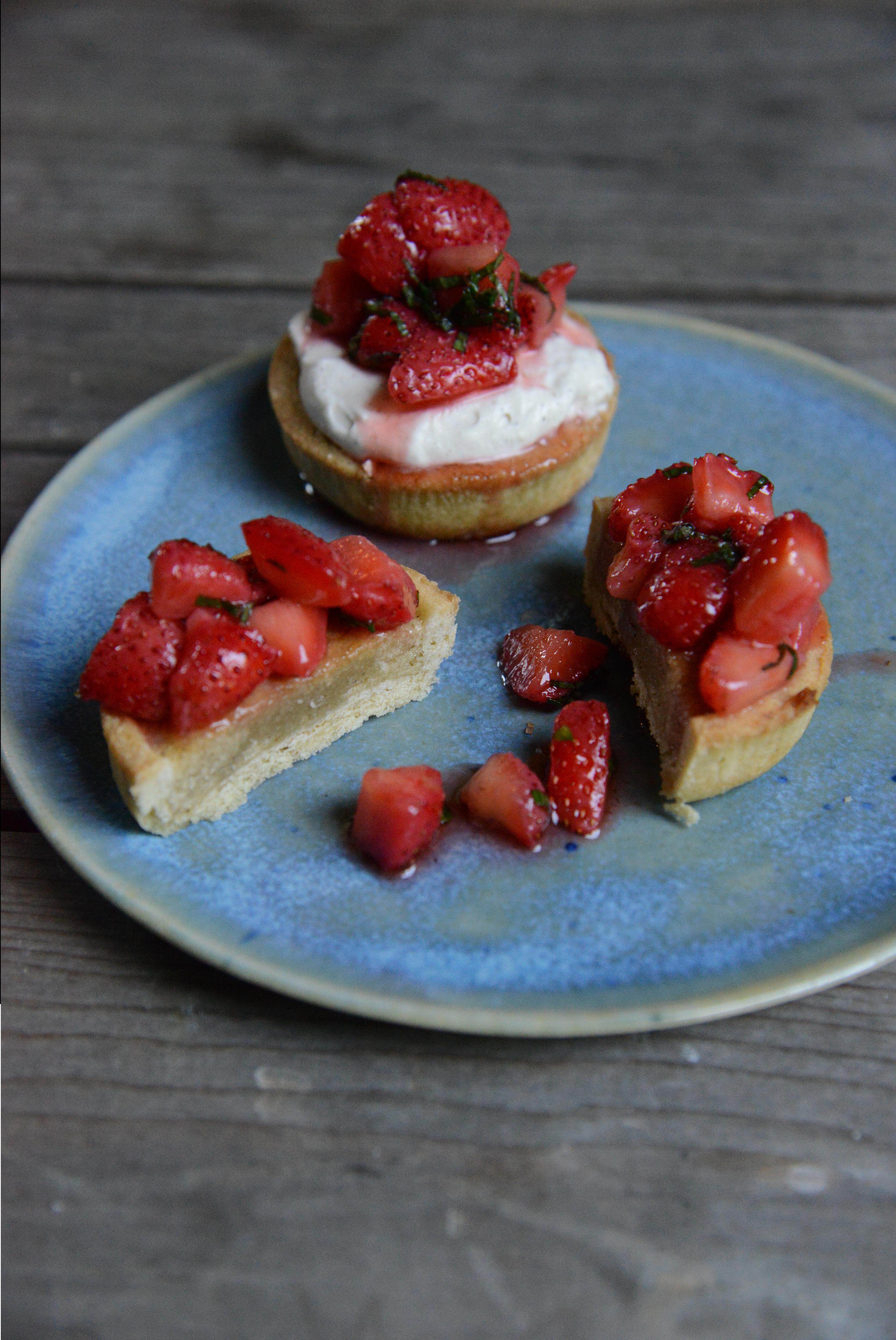 You are currently viewing Små jordbærtærter