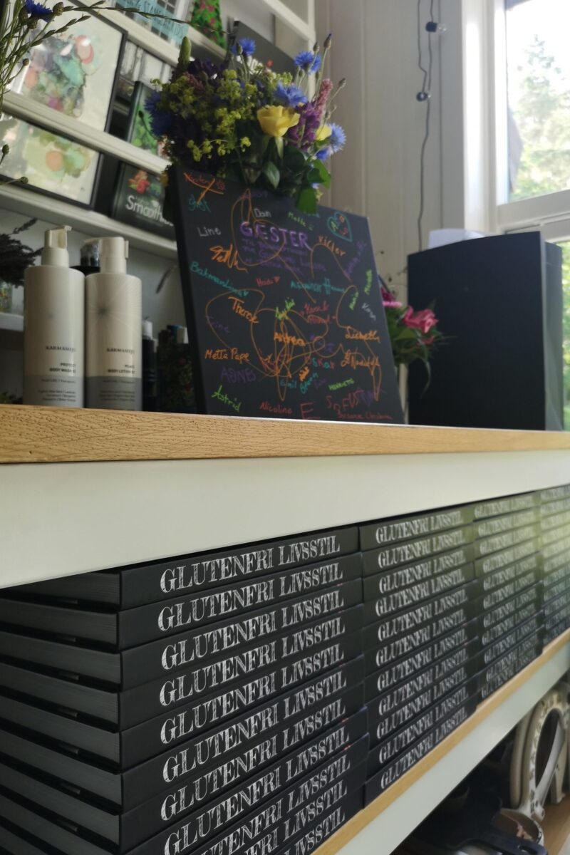 Anmeldelser af bogen GLUTENFRI LIVSSTIL